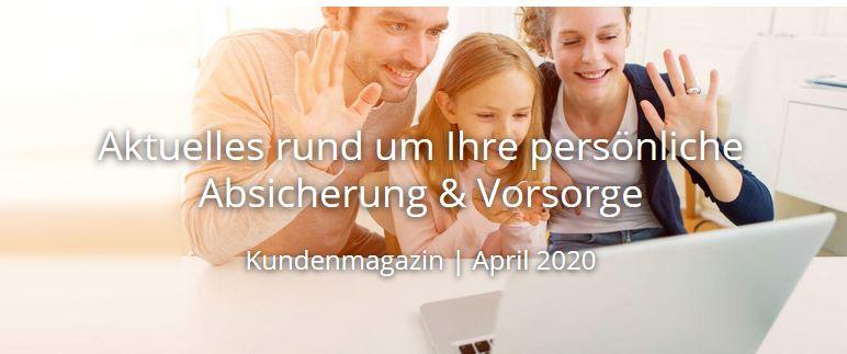Kundenmagazin | April 2020